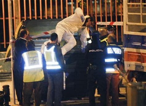 El cadáver hallado en Leganés  Madrid  tenía un corte en ...