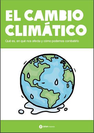 El cambio climático. Guía didáctica, gratis, en pdf ...