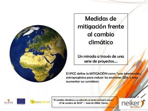 El cambio climático y su afección al sector primario vasco