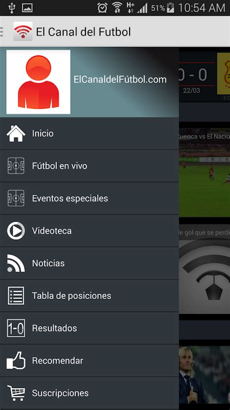 El canal del Futbol   Android Apps on Google Play