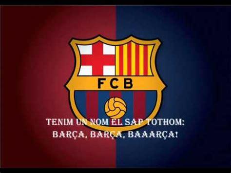 El Cant del Barça  FC Barcelona Anthem    YouTube