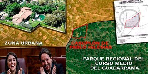 El casoplón de Pablo Iglesias e Irene Montero es ilegal y ...