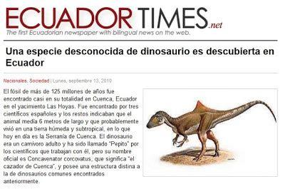 El cazador jorobado de... ¿¿¿Ecuador??? | Dinosaurios  El ...
