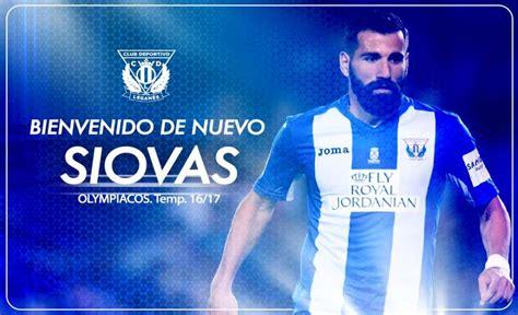 El CD Leganés anunció el fichaje de Dimitrios Siovas ...