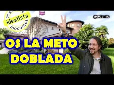 El chalet de Pablo Iglesias   YouTube