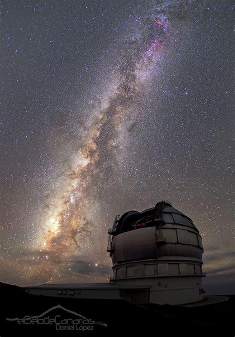El Cielo de Canarias » Gran Telescopio CANARIAS bajo la ...