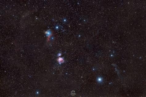 El Cinturón de Orión, la Nebulosa M42 y las estrellas ...