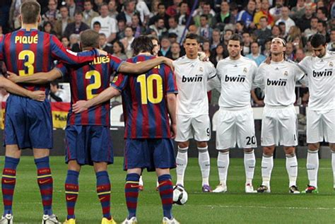 EL CLASSICO: Real Madrid vs Barcelona Four Times In 16 ...
