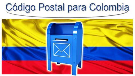 El Código Postal para Colombia   YouTube