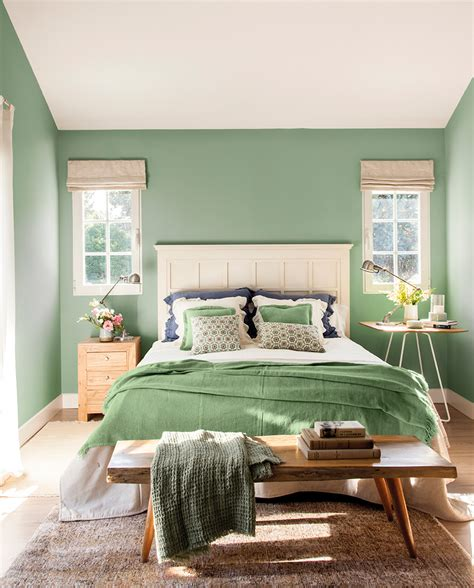 El color verde en decoración siempre es una buena opción