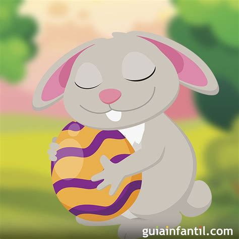 El conejo de Pascua. Cuento corto con valores para niños