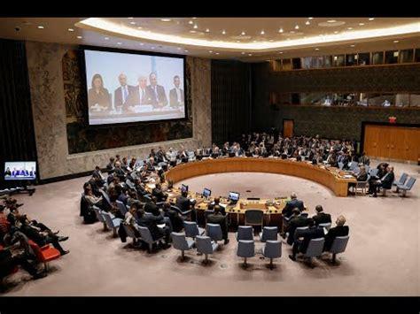 El Consejo de Seguridad de las Naciones Unidas mantiene ...