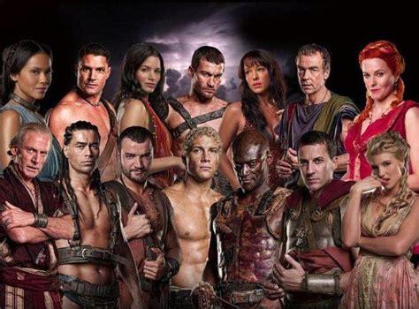 El contenido y los actores.  Spartacus: Sangre y arena
