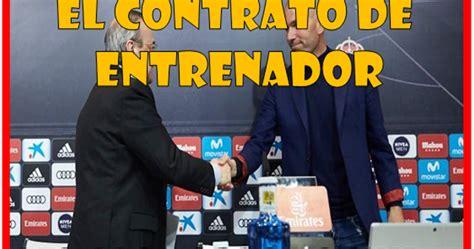 El contrato de entrenador [Desarrollo profesional en ...