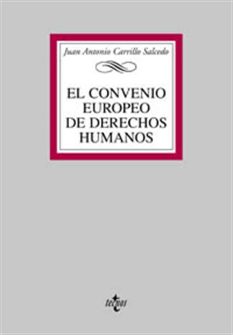 El Convenio Europeo de Derechos Humanos   Dialnet