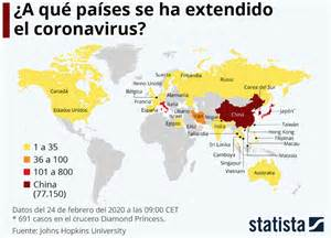 El coronavirus sigue avanzando: en qué países ya hay casos ...