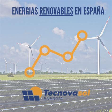 El crecimiento de las energías renovables en España
