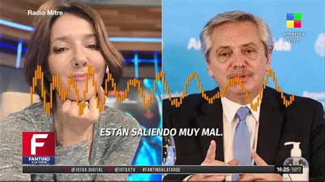 El cruce de Alberto Fernández y la periodista Cristina ...
