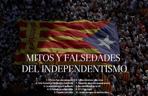 El desafío por la independencia de Cataluña | EL PAÍS