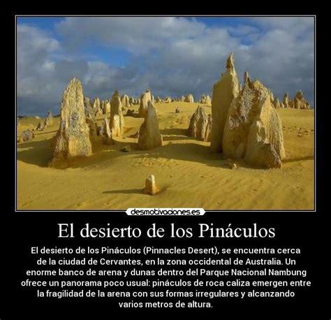 El desierto de los Pináculos | Desmotivaciones