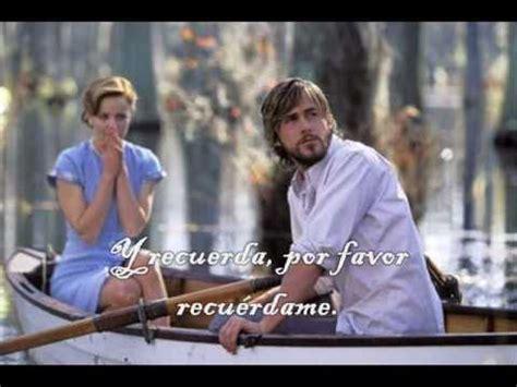 El diario de Noa. Please remember  español    YouTube