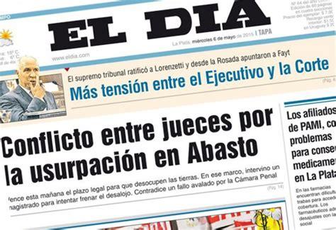 El diario El Día y el discurso corporativo | Diario Contexto