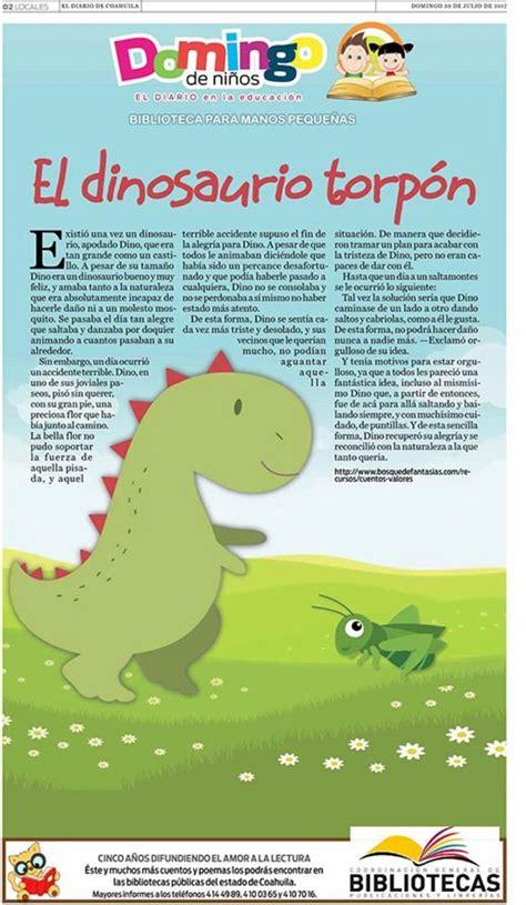 El dinosaurio torpón   El Diario de Coahuila