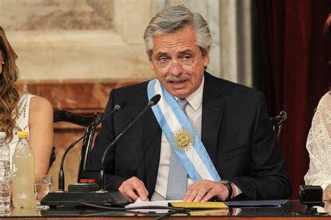 El discurso de Alberto Fernández Presidente  VIDEO  – El ...