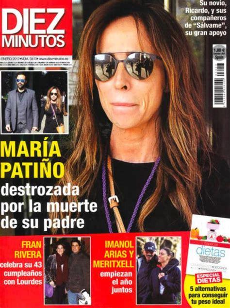 El dolor de María Patiño por la muerte de su padre en Diez ...