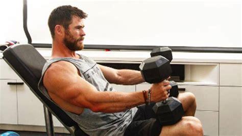 El duro entrenamiento de Chris Hemsworth para ser Thor ...