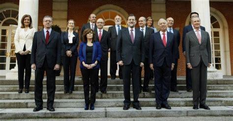 El Ejecutivo de Rajoy, a examen: qué ministros tienen ...