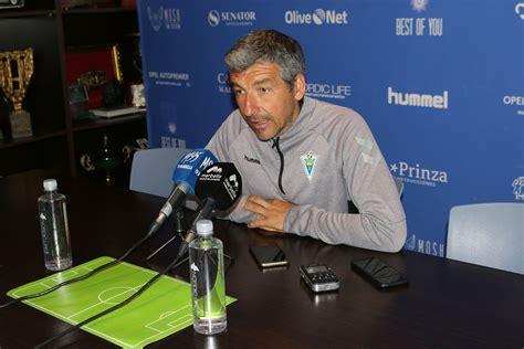 El entrenador del Marbella FC advierte del peligro del ...