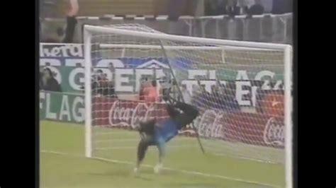El Escorpion de Rene Higuita contra Inglaterra en Wembley ...