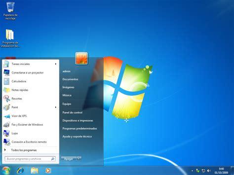 El escritorio de windows 7 | Profesora Melisa Franco