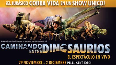 El espectáculo 'Caminando entre dinosaurios' arrasa en su ...