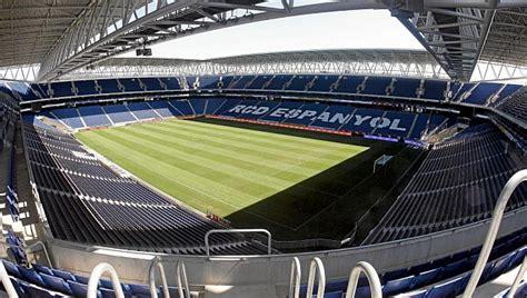 El estadio de Cornellà El Prat cumple sus primeros cinco ...