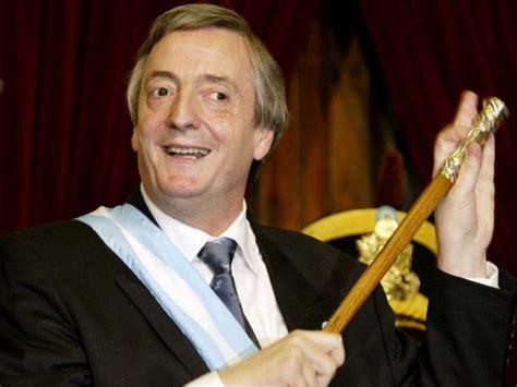 El ex presidente argentino Néstor Kirchner muere de un ...