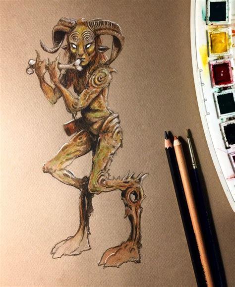 El fauno del laberinto Basado en la criatura de la ...