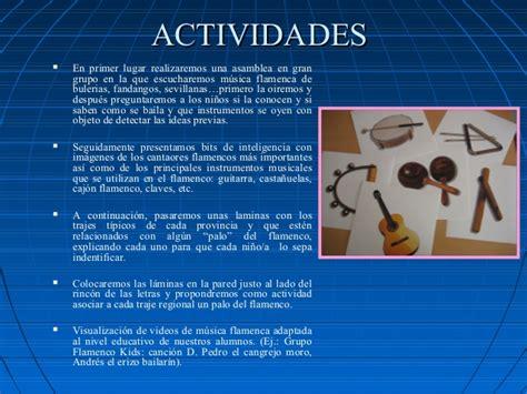 El flamenco en la educación infantil y primaria.