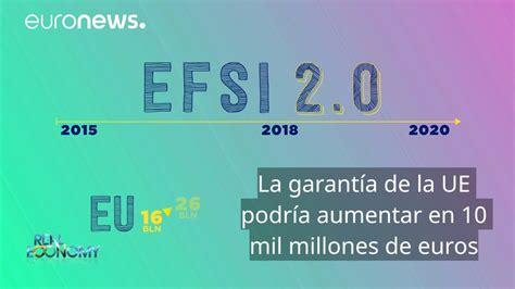El Fondo Europeo de Inversiones Estratégicas   YouTube