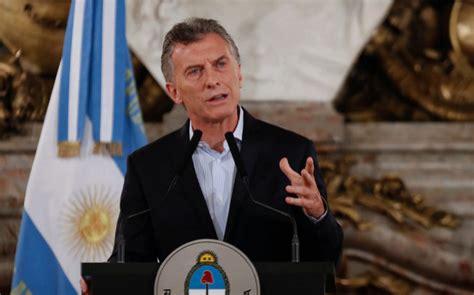 El Gobierno argentino asegura que la devaluación del peso ...