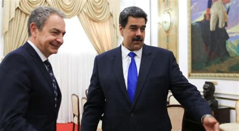 El Gobierno se desmarca de la visita de Zapatero a Venezuela