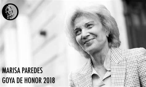 El Goya de Honor 2018 ya tiene dueña y Twitter lo celebra ...