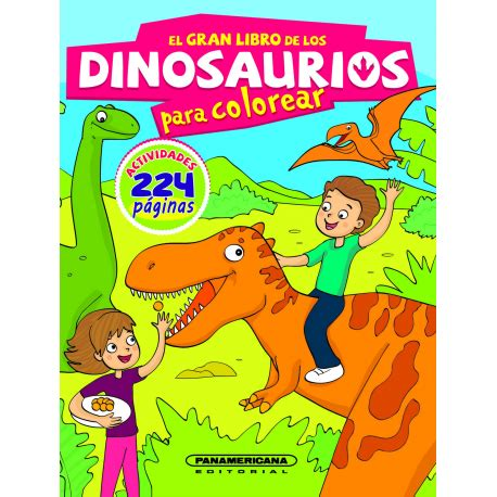 El gran libro de los dinosaurios para colorear ...