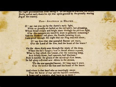 El Himno Nacional de Los Estados Unidos  Español    YouTube
