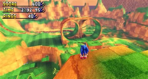 El increíble juego de Sonic en 3D que han creado los ...