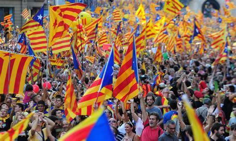 El independentismo catalán logra una histórica exhibición ...