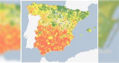 El INE crea mapas interactivos con la renta de los hogares