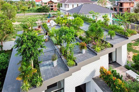 El jardín en un techo verde   Soluciones Especiales