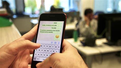 ¿El jefe puede  espiar  mis mensajes de Whatsapp en el ...